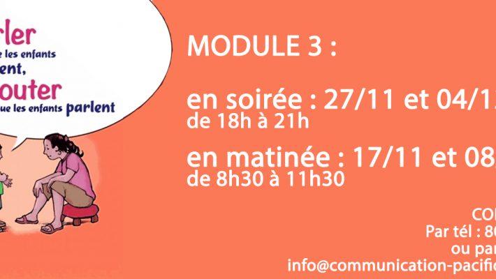 nouvelles dates d'ateliers